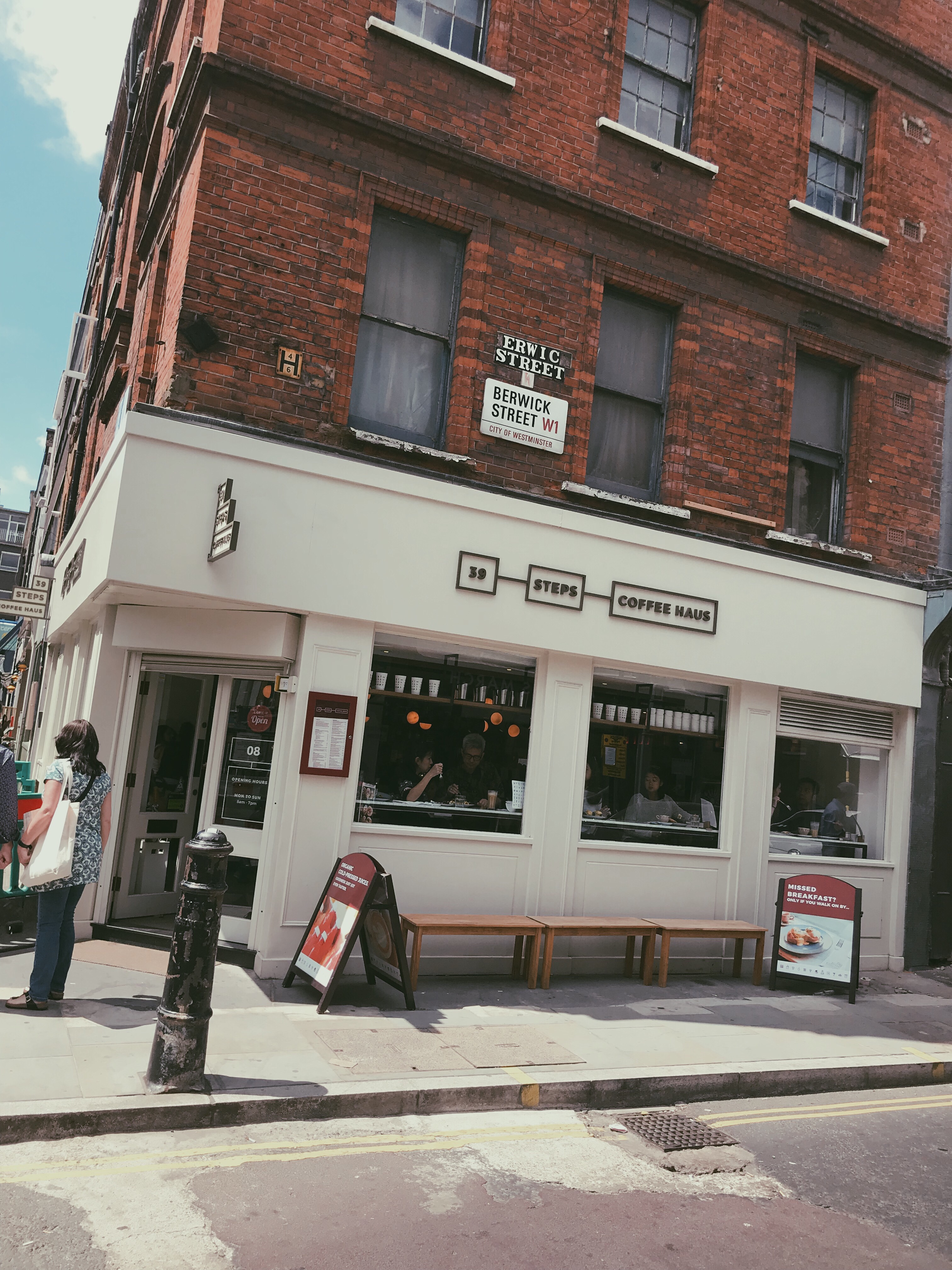 39 Steps Coffee Haus Review Twobrits